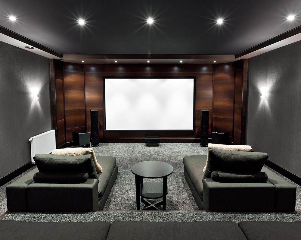Home Theatre Interiors Seating Design Build Theatre