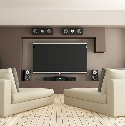 installation of a home theater in tampa fl