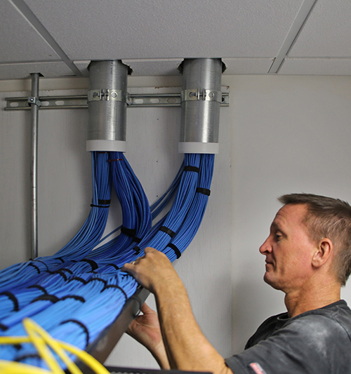 tampa bay network cabling pros