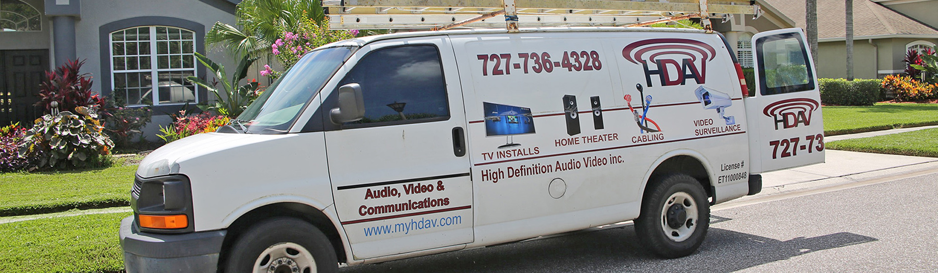 TV and Wiring Installers | Tampa Bay | High Definition Audio Video, Inc.