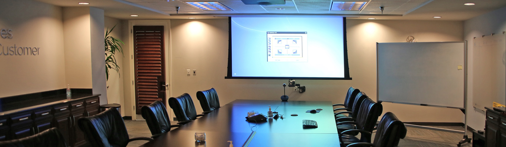 Conference Room Projector Installation | Tampa Bay | High Definition Audio Video, Inc.